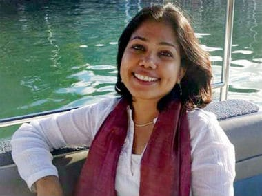 File image of Judith D'Souza. PTI