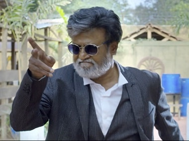 Rajinikanth in 'Neruppu Da' from 'Kabali'