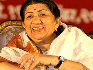Lata Mangeshkar. Image from News18