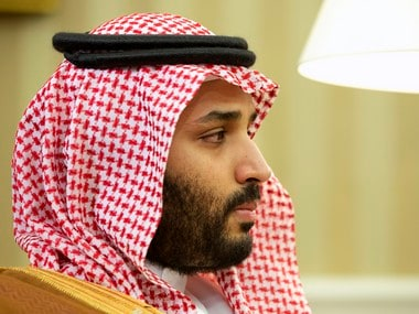 A file photo of Mohammed bin Salman. AP