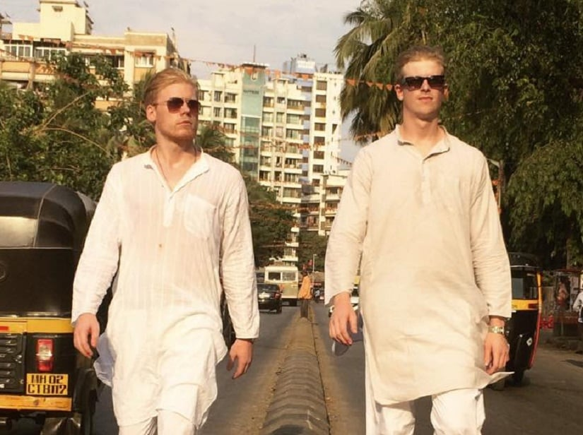 From '2 foreigners in Bollywood' Instagram account