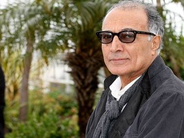 "In this May 2012 file photo, Iranian film director Abbas Kiarostami poses during a photo call for 'Like Someone in Love' at the 65th international film festival, in Cannes, southern France. Iran's official news agency IRNA says Kiarostami, whose 1997 film ""Taste of Cherry"" won the Palme d'Or, died Monday, July 4, 2016, in Paris, where he had gone for cancer treatment. He was 76. Image from AP"