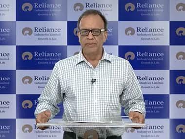 Alok Agarwal, CFO, RIL