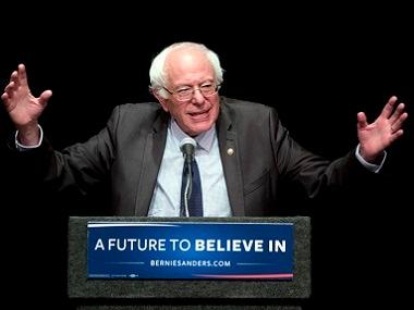 File image of Bernie Sanders. AP