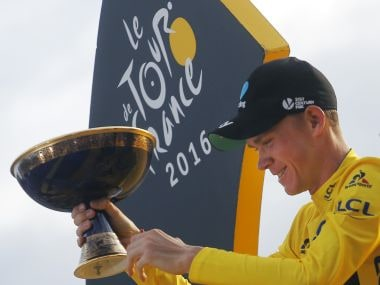 2016 Tour de France winner Chris Froome. AP