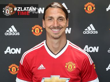 Zlatan Ibrahimovic. Manchester United official Twitter