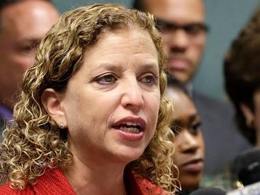 File photo of Congresswoman Debbie Wasserman Schultz. AP