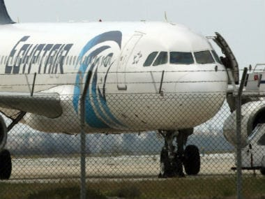 Word fire heard on cockpit voice recorder of doomed EgyptAir before crash