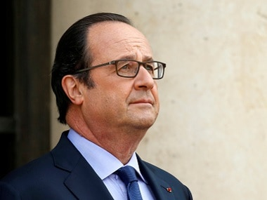 Former French president Francois Hollande. Reuters