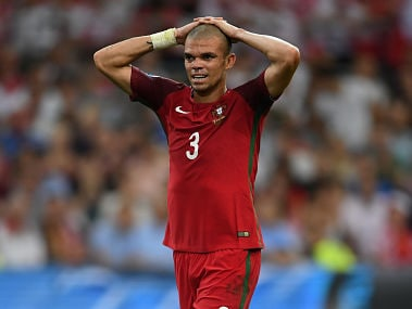 Pepe of Portugal. Getty Images