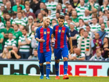 Barcelona defeat Celtic 3-1 at International Champions Cup in Dublin