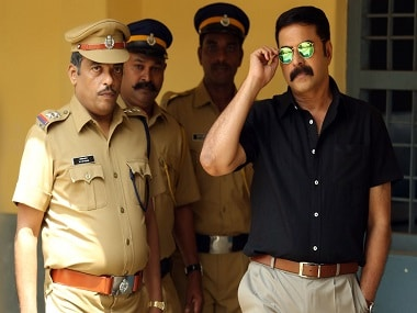 Mammootty in a still from 'Kasaba'