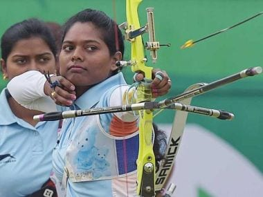 Laxmirani Majhi will be a dark horse in Women's archery at Rio Olympics 2016. News18