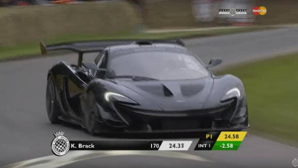 Video worth watching: McLaren P1 LM is fastest car up Goodwood