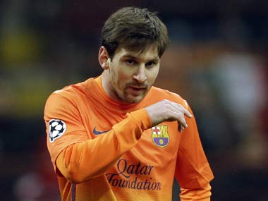 File picture of Lionel Messi. AP