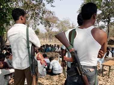 Nine naxal sympathisers surrender in Chattisgarh
