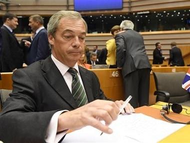 Nigel Farage. AP