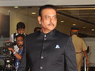 File photo of Ravi Shastri. AFP