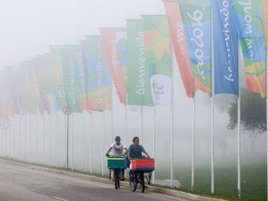 The 2016 Olympics will kick start on 5 August in cash strapped Rio de Janeiro. AFP