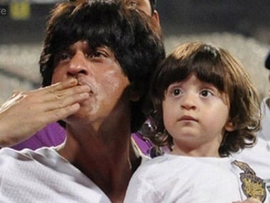 Shah Rukh Khan's third child AbRam was born via IF surrogacy. Image from IBNlive