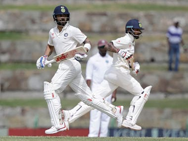 India vs West Indies, 1st Test, Day 2 as it happened: Shami strikes as hosts reach 31/1 at stumps
