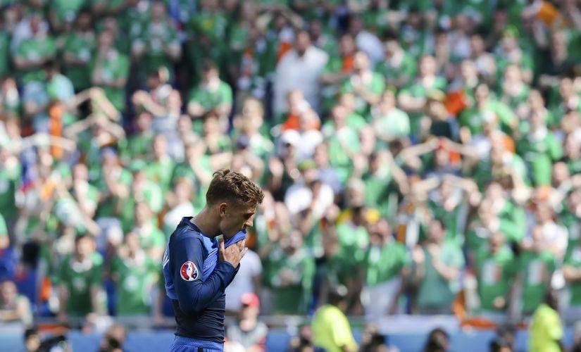 France's Antoine Griezmann. AP