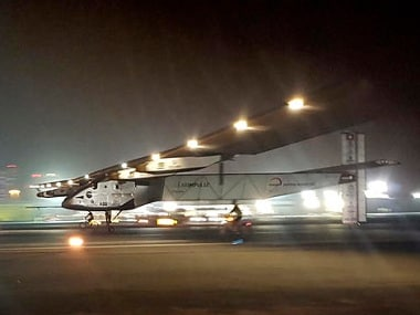 Solar plane makes history after completing first round-the-world journey