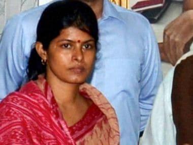Expelled BJP leader Daya Shankar Singh's wife Swati Singh. PTI