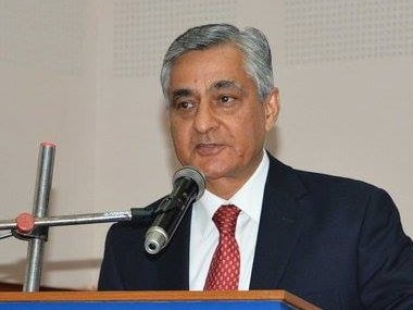 A file photo of Chief Justice of India TS Thakur. CNN-News 18
