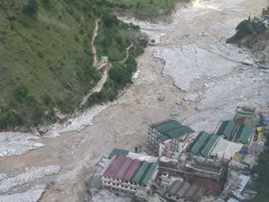 Flood in Uttarakhand. Reuters