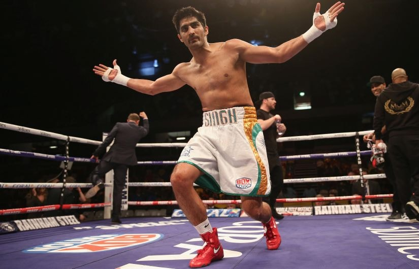 File photo of Vijender Singh. Getty