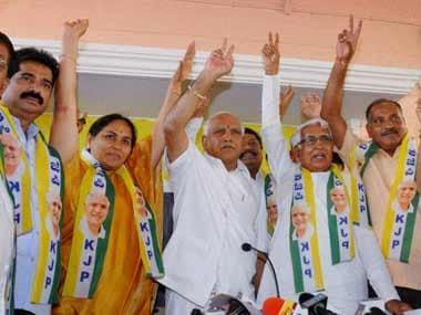 A file photo of Yeddyurappa. PTI