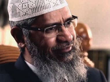 File image of Zakir Naik. YouTube screen grab