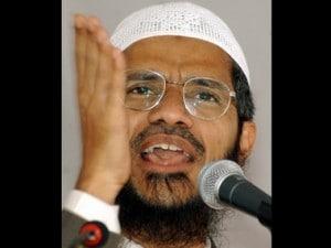 Controversial Islamic preacher Zakir Naik. Reuters