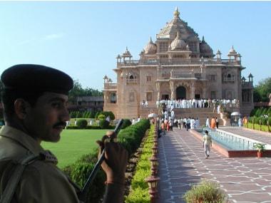 A file of Akshardham temple. Reuters