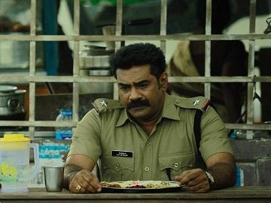 Biju Menon as Raghu in 'Anuraga Karikkin Vellam'