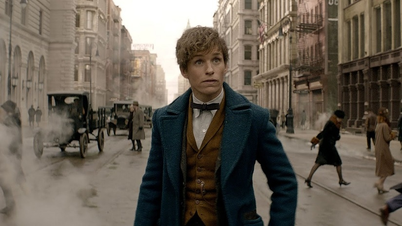 Eddie Redmayne in a still from 'Fantastic Beasts and Where to Find Them'