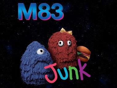 The album art for M83's 'Junk'
