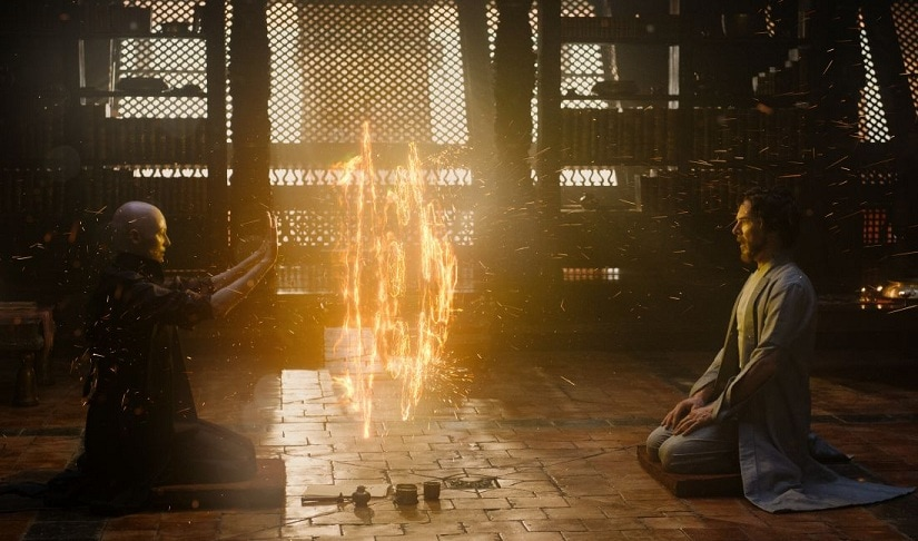 Doctor Strange conjures up the magical side of Benedict Cumberbatch
