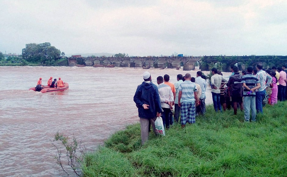 Two bodies have been recovered in the search operations following the collapse of the British-era bridge, on the Mumbai-Goa highway across the river Savitri. The incident happened at around 2 am on Tuesday. PTI