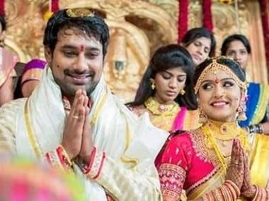 'Happy Days' star Varun Sandesh marries actress Vithika Sheru in a private ceremony