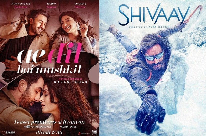 Ae Dil Hai Mushkil teaser shows its game on versus Shivaay at the box office