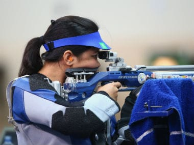 File photo of Apurvi Chandela. Getty