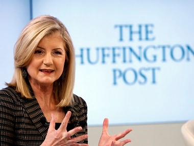 Arianna Huffington steps down from HuffPost to launch wellness startup