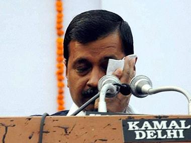 Delhi Chief Minister Arvind Kejriwal. PTI.