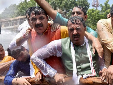 BJP files police complaint against Akhilesh Yadav, police for lathi-charge on protesting members