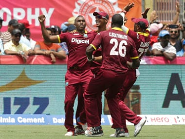 Dwayne Bravos last-over heroics deny India world record chase against West Indies
