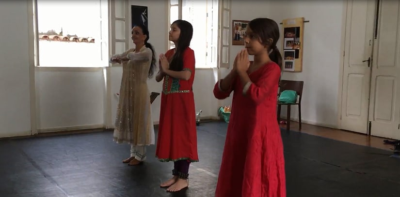 The casa Azul, where Kathak is taught to Brazilian and Indian students. Photo courtesy Aravind Krishnan