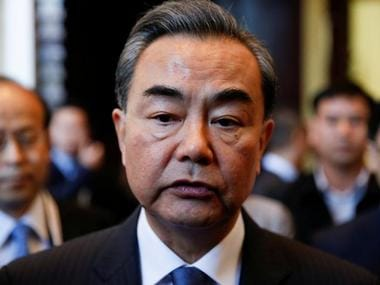 China's Foreign Minister Wang Yi. Reuters