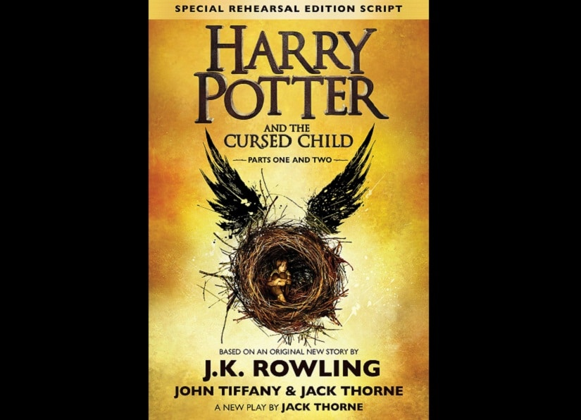 Let's not forget that 'Harry Potter and the Cursed Child' isn't a full-fledged book, it's the script for a play, a rehearsal edition no less